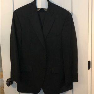 Men's black dress suit